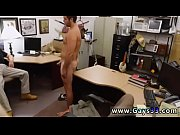 Straight married male cumshots gay Straight boy goes gay for cash he