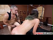 Dirty slut latina Gina Valentina manhandled hard in dungeon