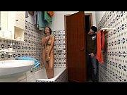 horny geek boy spies her naked mom in.