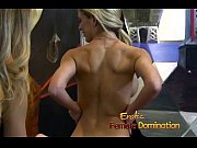 Absolutely stunning blonde dominatrix enjoys a hardcore session with a slave-6