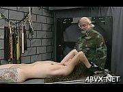 Woman endures heavy stimulation in wild amateur fetish clip scene