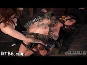 Clamped up honey is receiving lusty facial castigation