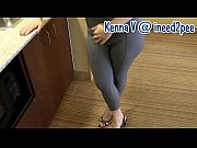 Kenna peeing her pants, bedwetting, pissing her jeans 2015