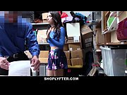 ShopLyfter - Brunette Teen Strip Searched &amp_ Fucked