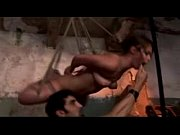 Hogtied Girl Hanging Getting Paddled Spanked Hook To Pussy And To Mouth By Master In The Basement
