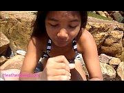 Heather Deep public outdoor deepthroat cum swallow HeatherDe