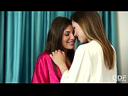 Lesbo sleepover leads to intense fingering with Jenny Appach &amp_ Sindy Black