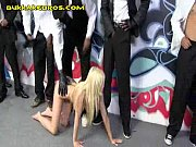 blonde treat for group of black.