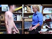 lp officer sucks shoplifters cock
