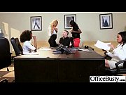 Hardcore Sex In Office With Big Round Boobs Horny Girl (anya diamond jade jasmine) vid-03