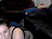 Chubby fluffy girlfriend live porn show