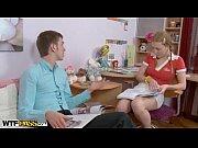 thumb Pigtailed Blond e Girl Fuck By Teacher Teacher