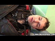 Leather clad hunk sucks cock and gets fucked hardand takes cock in ass 2