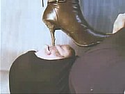 Licking clean my Wife'_s dirty boots 1