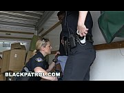 thumb Black Patrol    Thug Gets Busted By Milf Cops  d By Milf Cops And Punished With Sex
