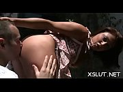 Horny vixen spreads her fine gazoo cheeks and smothers lucky stud