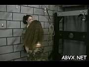 Severe bondage with busty women