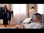stockings hot in footjob a red phoenix dominica gives
