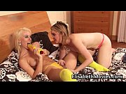 two horny and slutty babes having.