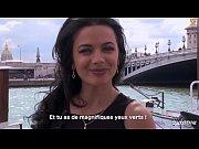 LA COCHONNE Romanian babe Shalina Devine enjoys hard anal with French stud