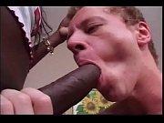Chocolate skin shemale licks white boy&#039_s ass before fucking