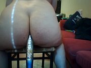 Impaling Her Ass on a Baseball Bat