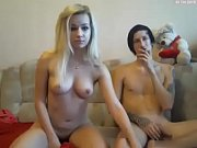 NudeCams.club Shy Young Couple First Time Live on Cams