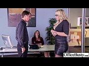 Horny Busty Girl (julia olivia) Fucks Hardcore In Office clip-22