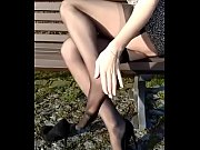 Cams4free.net - Shoeplay Sexy German Legs Nylons