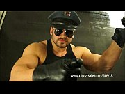 big cop hunk stomps and spits on you.
