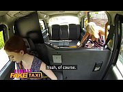 thumb female fake taxi blonde milf cums on sexy redheads tongue