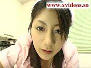 Beautiful Japanese nurse sex to orgasm