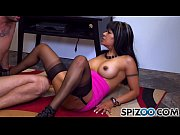 Spizoo - Latin Gabby Quinteros fucking a big dick, big booty &_ big boobs