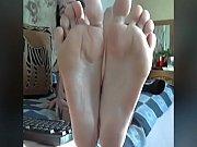 granny perfect feet in face no sound