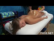 Hot and sexy 18 year old pretty gets drilled hard doggy style by her massage therapist