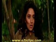 Jackie Shroff Smooching Madhuri In Prem Dewane