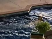 Jaime Pressly - Poison Ivy - Pool Scene