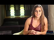 MMA practising teen hottie from New Orleans stripteases