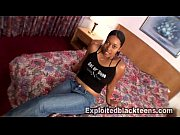 black girl gets freaky in her 1st amateur.