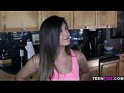 TeenPies Braced latin teen Natalie Monroe takes cum in her pussy
