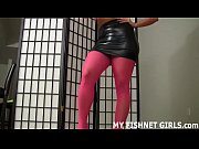 I will give you a nice little treat with my feet in fishnets JOI