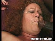 Chubby Mature Redhead Double Team Fucked