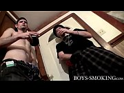 Nolan and York Reid have a sexy smoke and stroke session