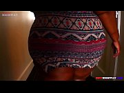 Tall Czech teen runner masturbates solo after a session