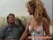 Horny bitch sucks and gets banged