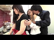 thumb risky jav covert sex with mother in law in kitchen subtitled