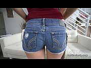 petite babe gets huge cock in.