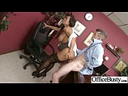 Sexy Worker Girl (lisa ann) With Big Melon Tits In Sex Office Act clip-25