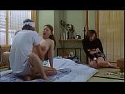 threesome with dildo granpa
