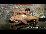 Gay bondage anal xxx Luke is not always happy just blowing the cum
